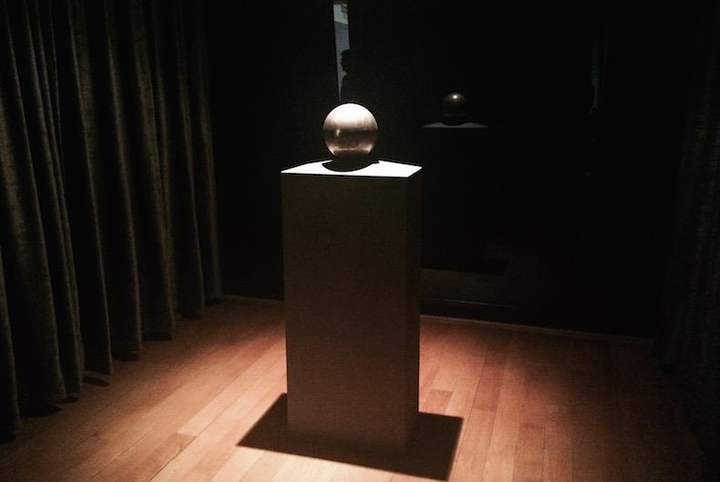урна с прахом Николы Тесла в музее Теслы