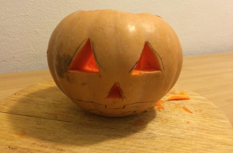 Тыква на хэллоуин своими руками фото 64