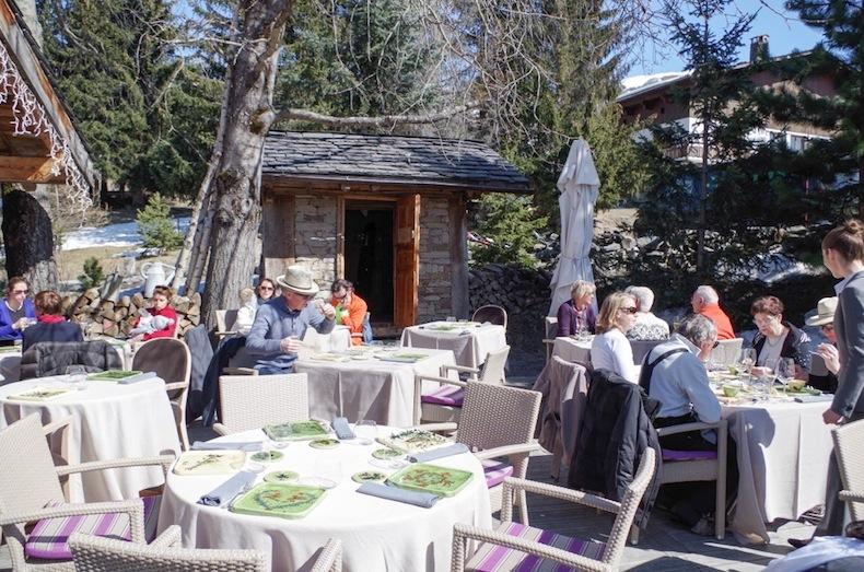 ресторан La Bouitte