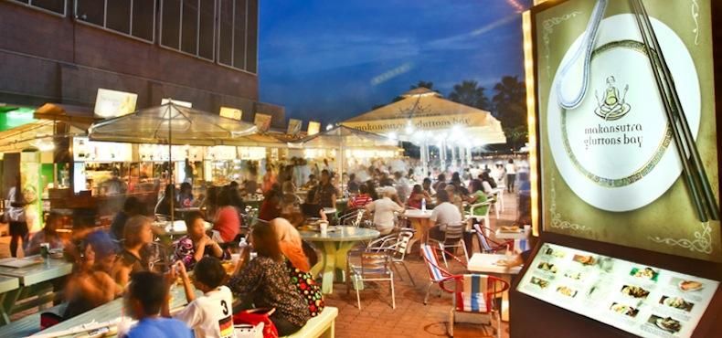 ресторан MakanSutra Gluttons Bay в Сингапуре