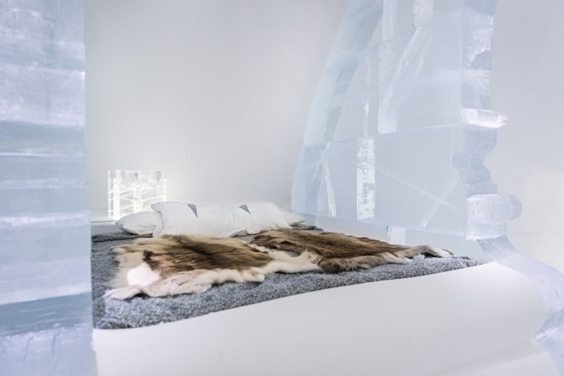 "ART & DESIGN book 2015, ICEHOTEL, iCelebrate25, Luxury suite ""Rococo"" Design by Luc Voisin and Mathieu Brison."