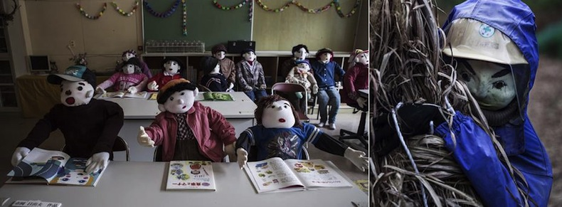 японская деревня кукол