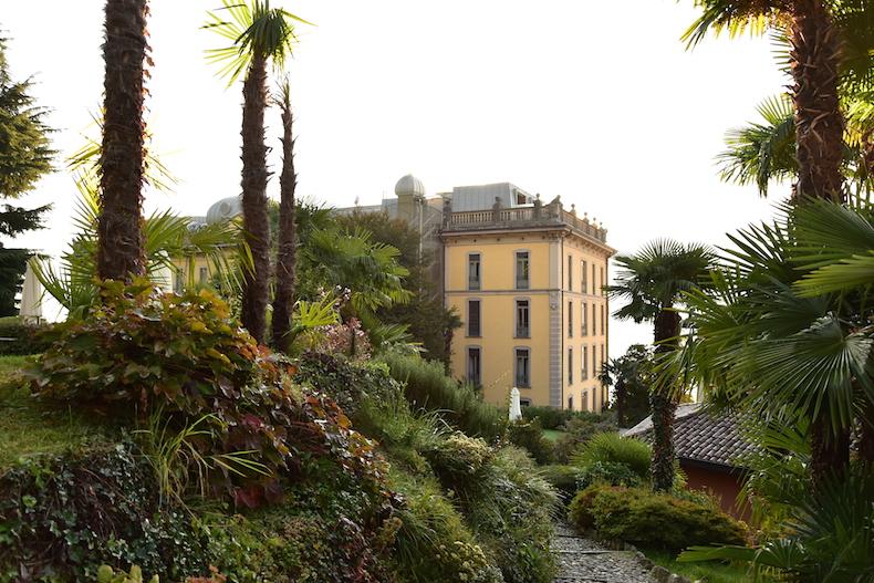 сад в Grand Hotel Tremezzo