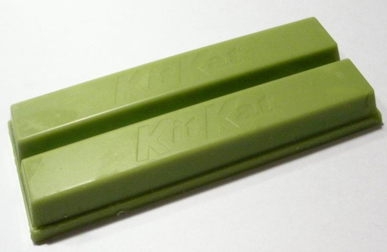 зеленый Kit Kat