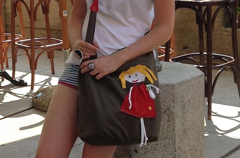 сумка и часы handmade