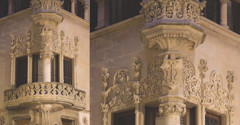 балкон дома Навас, @Miguel Raurich, фотобанк Agència Catalana de Turisme
