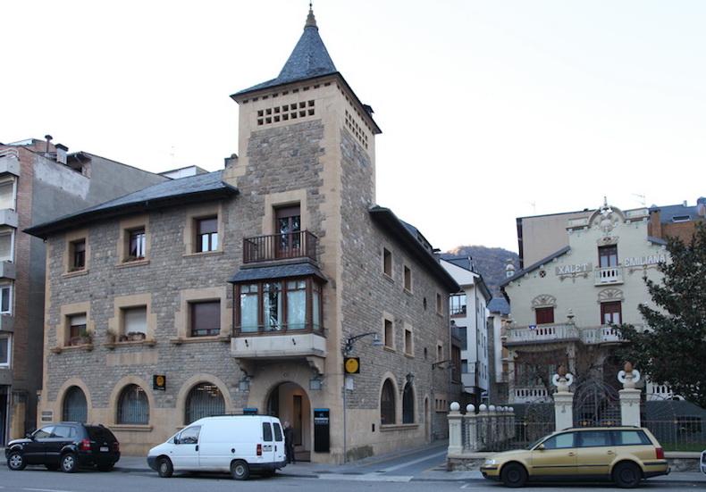 город Сорту, Каталония фото Бориса Палтусова