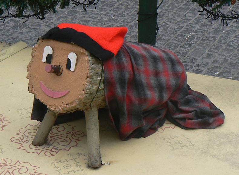 рождественское полено