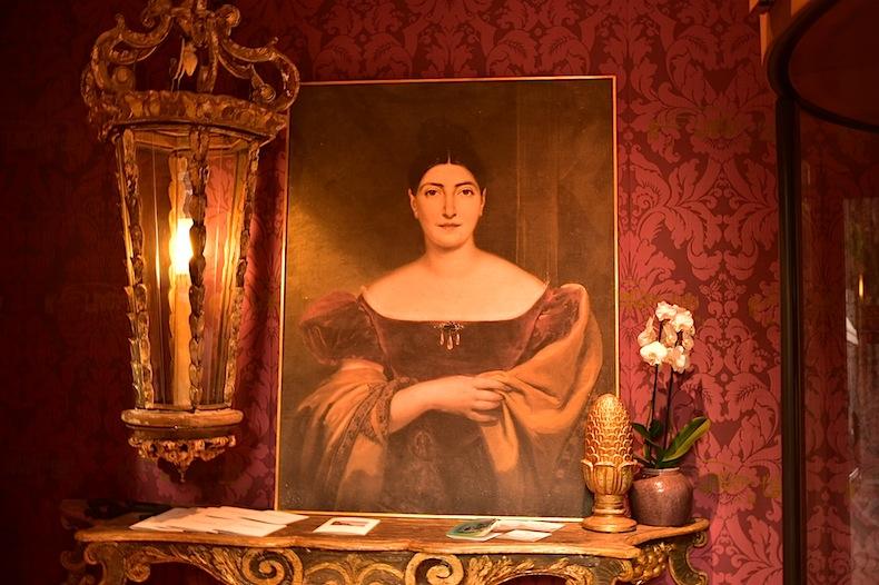 портрет Джудитты Паста на вилле CastaDiva