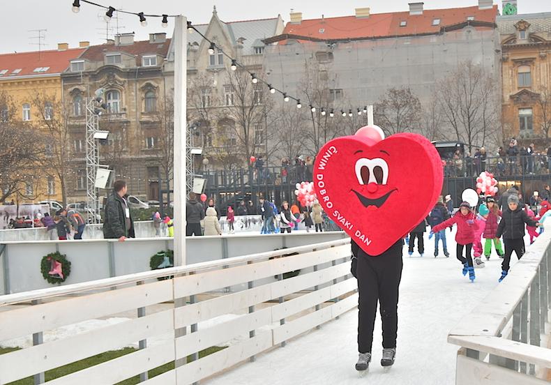 каток в Загребе