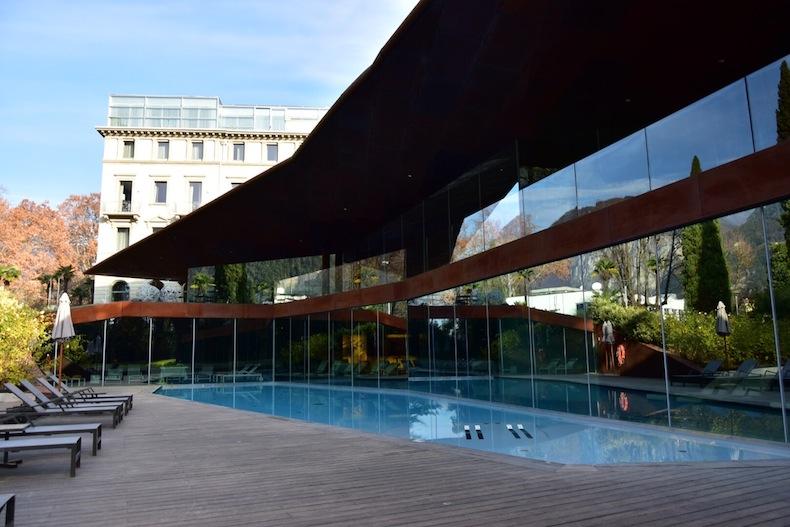 бассейн отеля Lido Palace