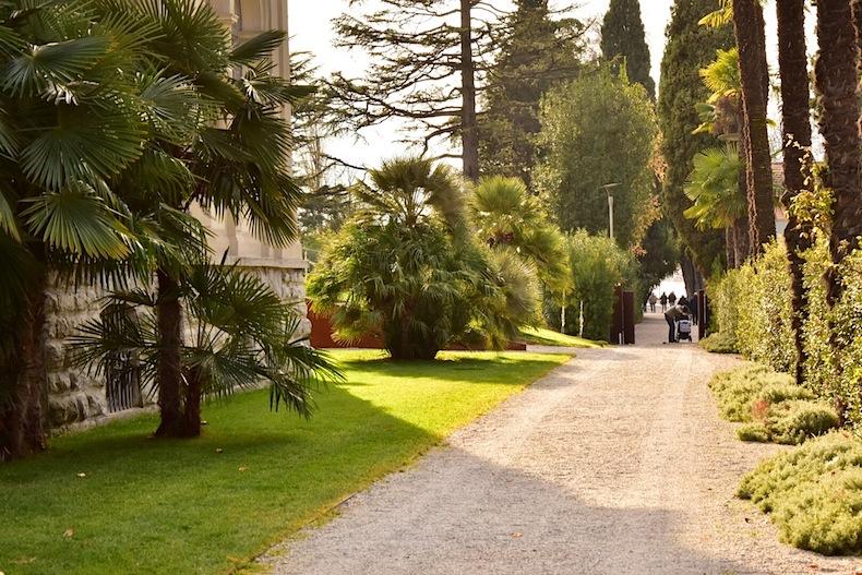 сад отеля Lido Palace