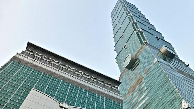 башня Тайбея Taipei 101, Тайвань