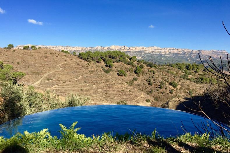 Чистейшая вода в горном источнике на винодельне Mas Sinen