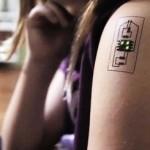 Появились чипы-тату, сообщающие о состоянии здоровья