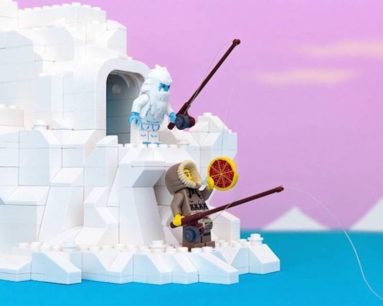 Аляска Lego