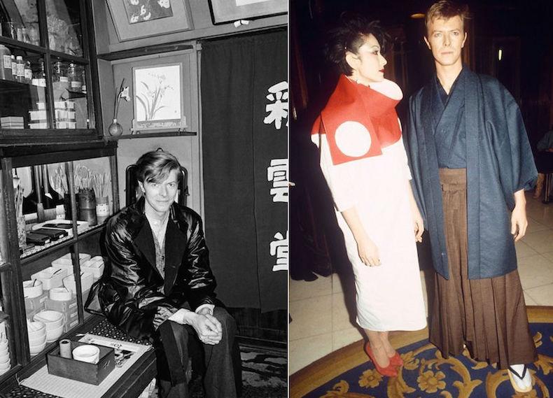 Дэвид Боуи в Японии, конец 70-х