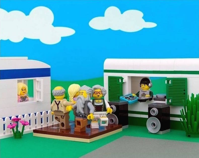 Арканзас Lego