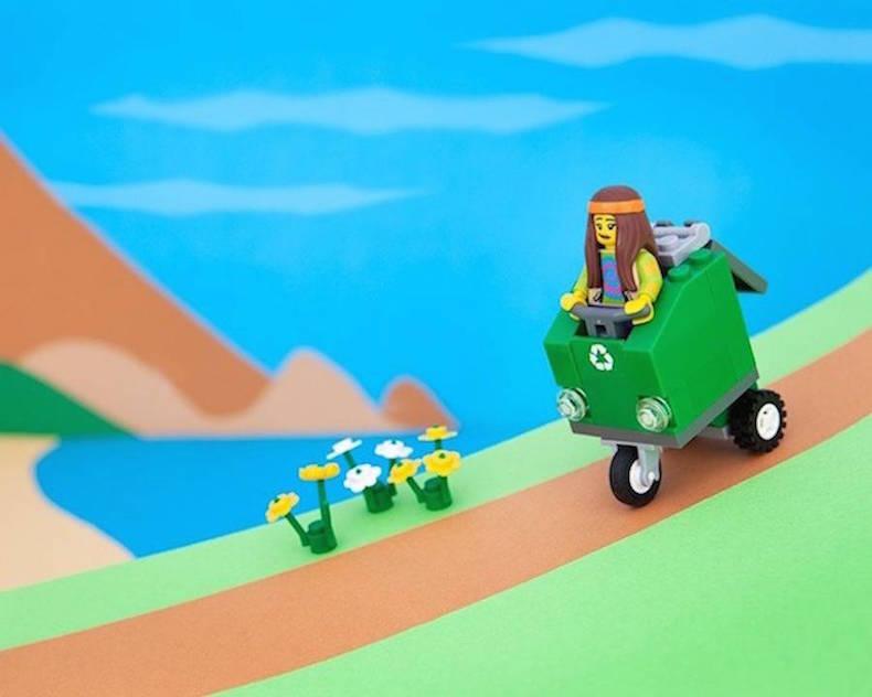 Калифорния Lego