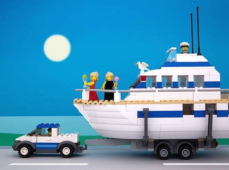 коннектикут Lego