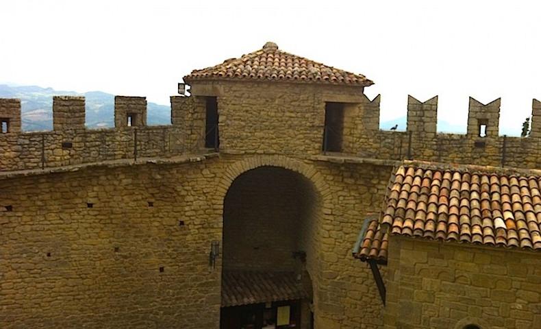 дозорные башни в Сан-Мартино