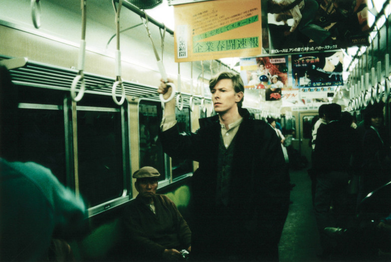 Дэвид Боуи в Токио, конец 70-х