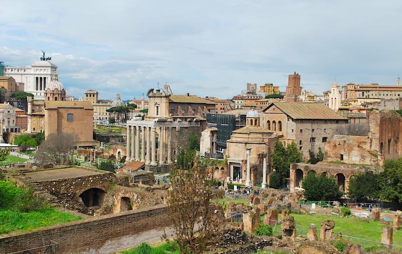 Рим, Форум Романо, Италия