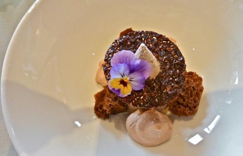 L'Alpe Fleurie, шоколадный мусс