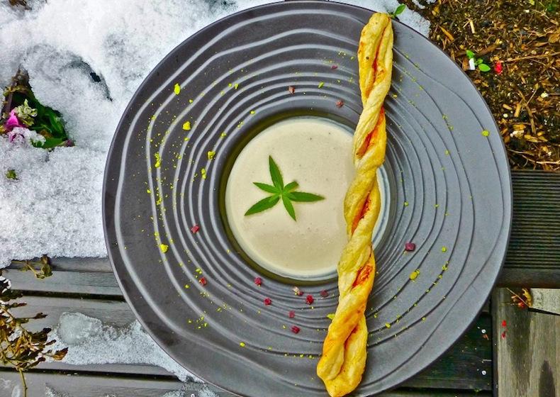 L'Alpe Fleurie, крем-суп