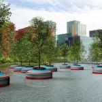 В Роттердаме появится плавучий лес или как в Голландии спасают зеленые насаждения