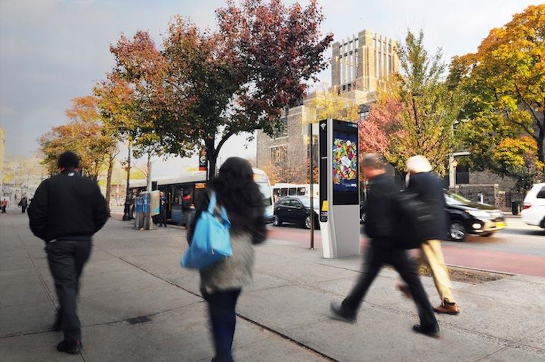 Городские точки wifi LinkNYC