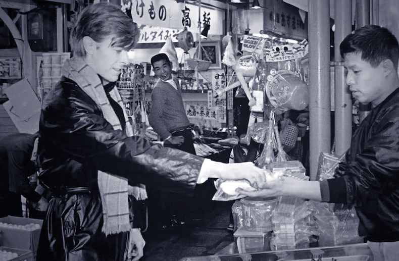 Дэвид Боуи в Киото, конец 1970-х