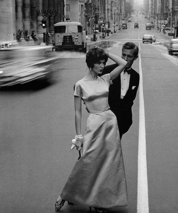 "Joanna McCormick and Colin Fox, New York 1958  From the book ""Women Then: Jerry Schatzberg 1954-1969"""