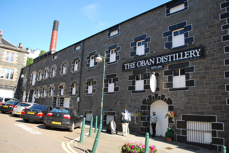 знаменитая вискикурня Обана, Шотландия