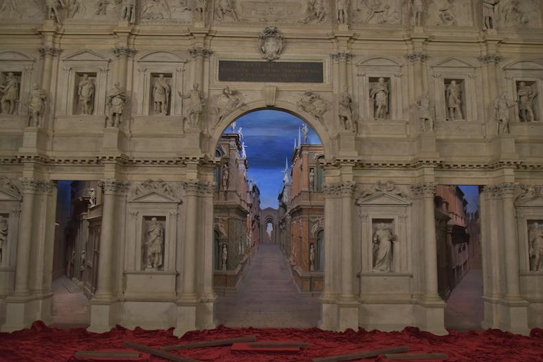 театр Олимпико, Виченца, Венето, Италия