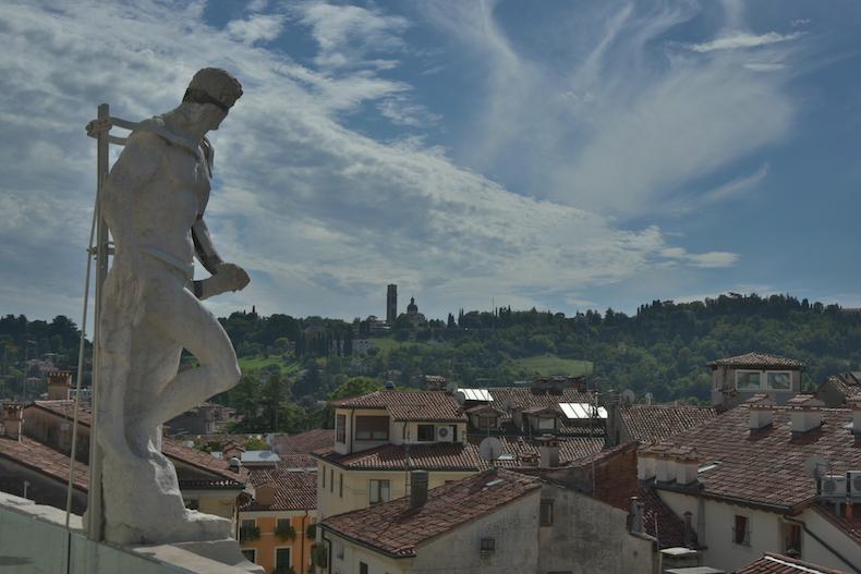 статуи на верщине Базилика Палладиана, Виченца, Венето