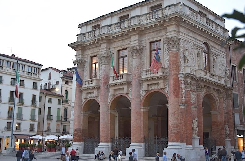 Лоджия дель Капитанио, Виченца, Венето, Италия