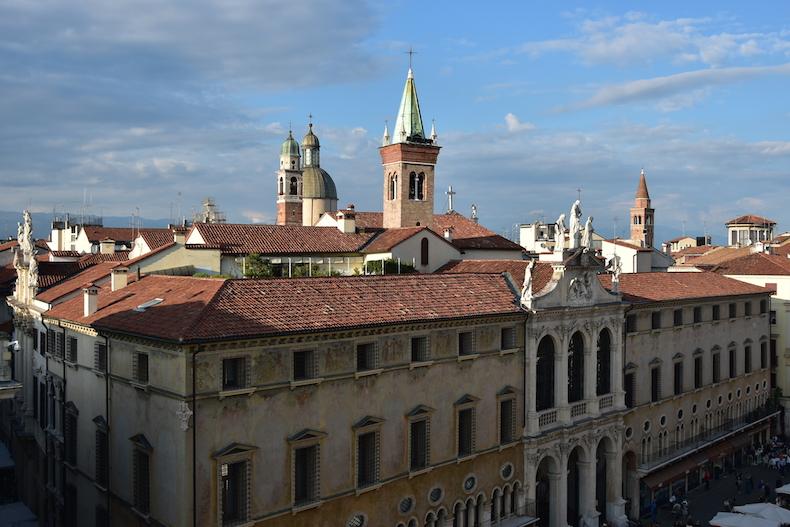 площадь Синьории, Виченца, Венето, Италия