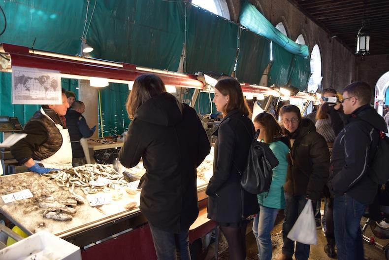 рыбный рынок на Риальто