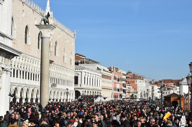 карнавал в Венеции, площадь Сан-Марко