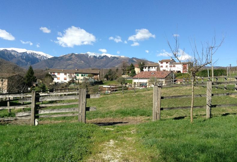 агритуризмо в холмах Просекко