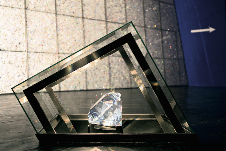 Самый крупный кристалл Swarovskii, занесенный в книгу рекордов Гиннеса