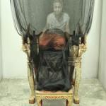 Тайский художник создает живые картины на тюле