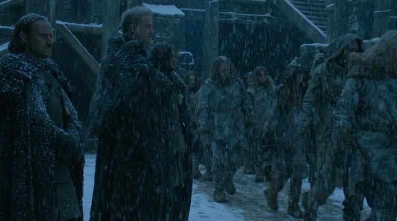 """ЧЕрный замок, кадр из сериала """"Игры престолов"""""""