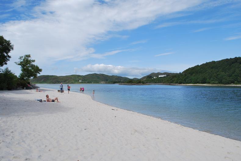 пляжи Морар (Morar), серебряные пляжи Шотландии