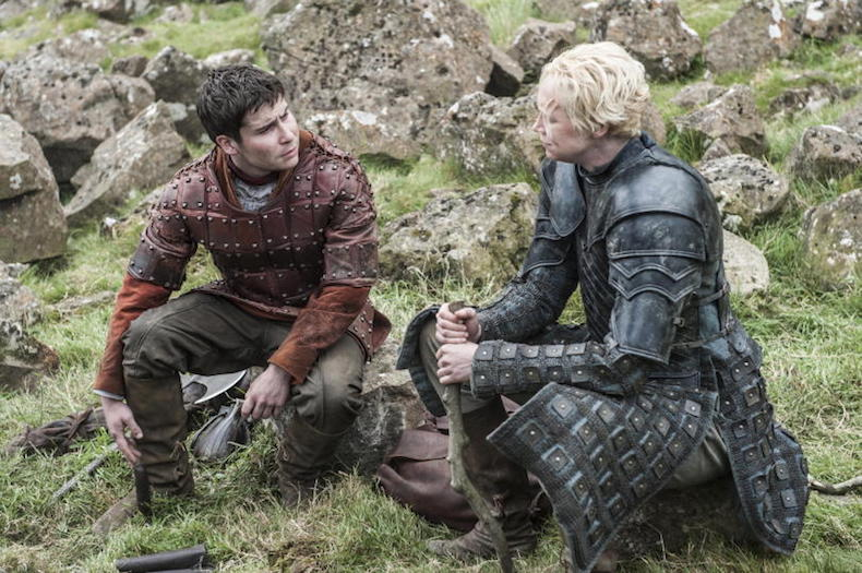 Daniel-Portman-as-Podrick-Payne-and-Gwendoline-Christie-as-Brienne-of-Tarth-_-photo-Helen-Sloan_HBO-810x538