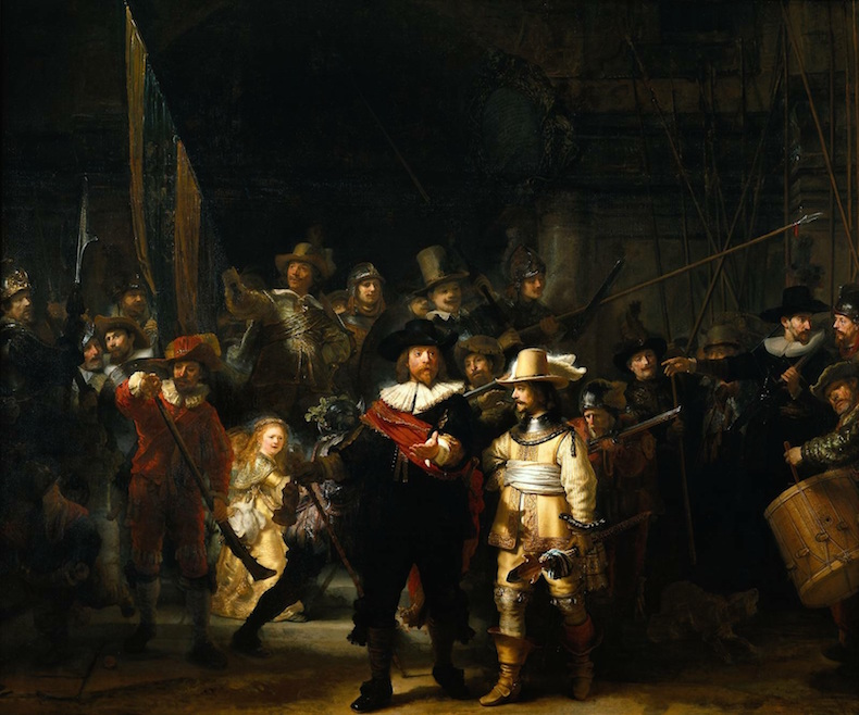 Rembrandt-Night-Watch