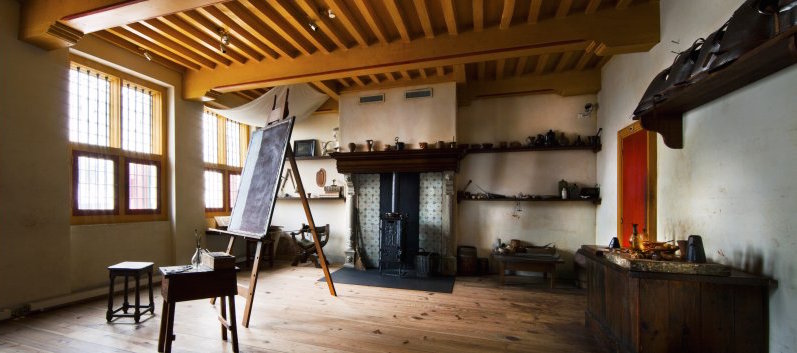 мастерская в доме Рембрандта