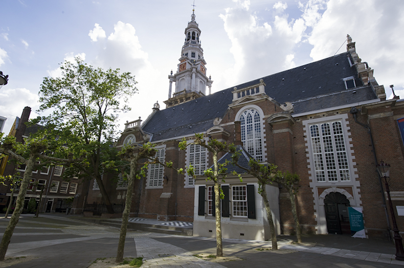 церковь Зейде-керк в Амстердаме