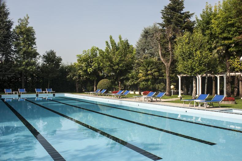 бассейн Sirio в Hotel Metropole